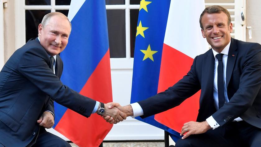 法俄總統表示愿加強雙邊合作并改善俄歐關系