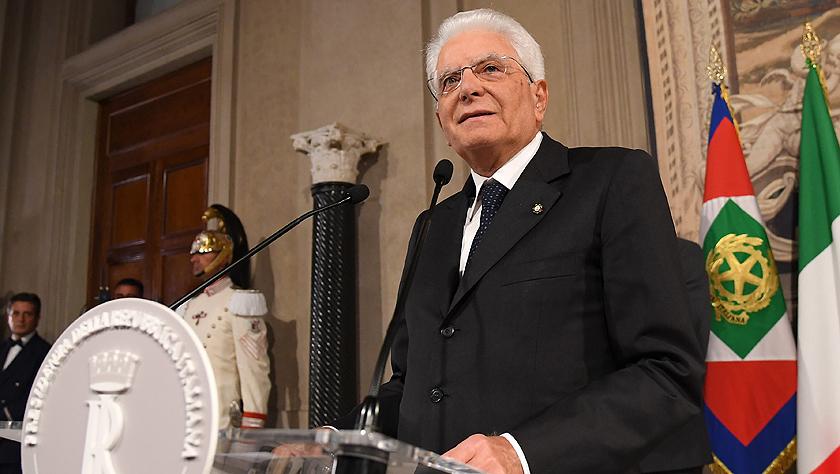 意大利总统表示希望各党派尽快商讨决定联合组阁事宜