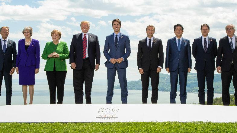 外媒:西方阵营分歧加深 或在G7峰会再爆冲突
