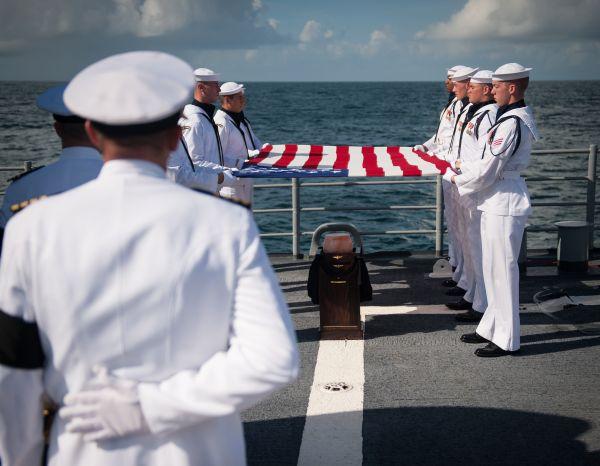 1 海葬儀式