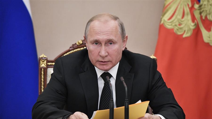 普京说俄准备对等回应美试射导弹