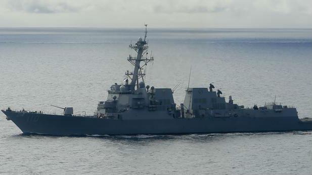 美军舰今年第7次穿越台海