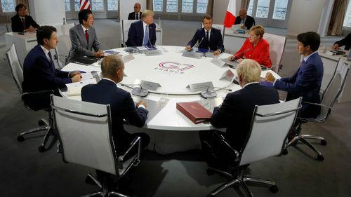 外媒:特朗普在G7遭遇批评浪潮 多位领导人反对贸易战