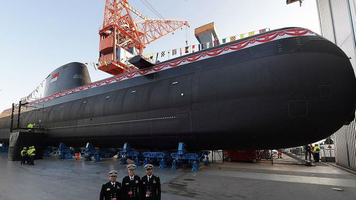美媒:新加坡努力加强海军力量