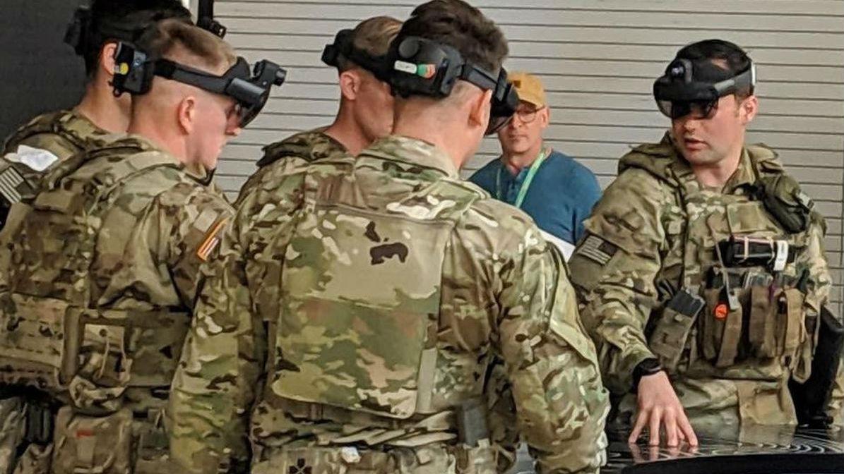 """酷似游戏还有学习功能 美军开发""""阿凡达""""士兵训练系统"""