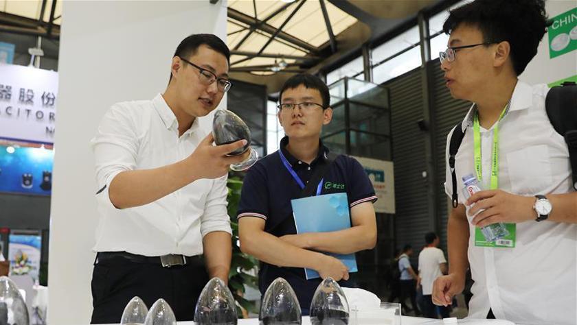 2019上海国际新能源汽车产业博览会开幕