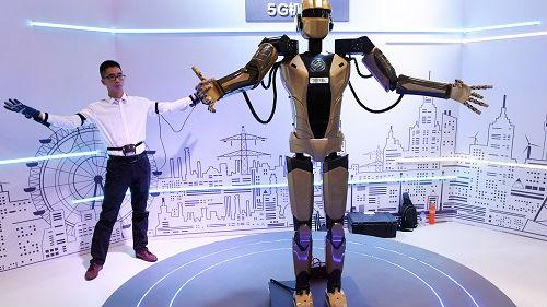 中国欲成为机器人领域领导者 外媒:发展经验值得学习