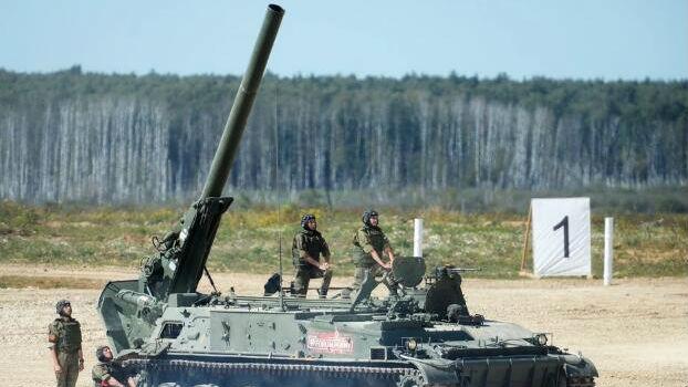 一炮炸塌一栋楼!俄军威力最强巨炮实弹射击