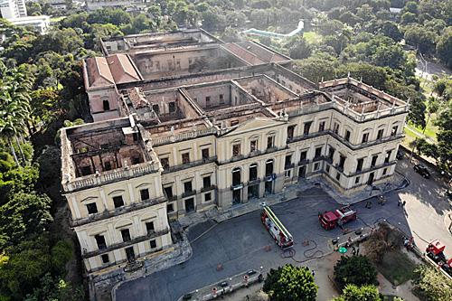 火灾一年后,巴西国家博物馆宣布计划2022年重开部分展馆