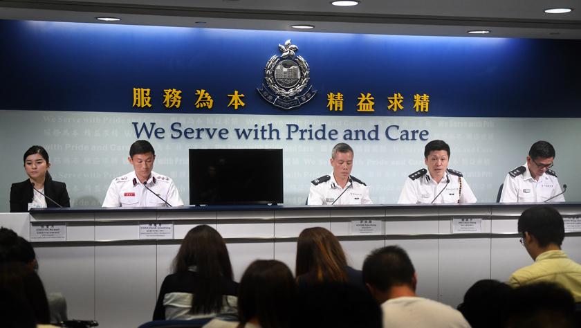 香港警方拘捕多名涉嫌参与近期暴力犯罪活动的人员
