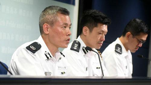 香港警方:反对激进示威是负责任的决定