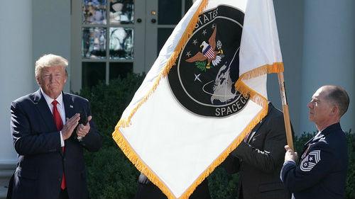 外媒:特朗普宣布成立太空司令部 大肆炒作中俄威胁