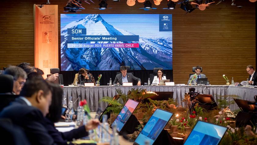 2019年APEC第三次高官会在智利巴拉斯港举行