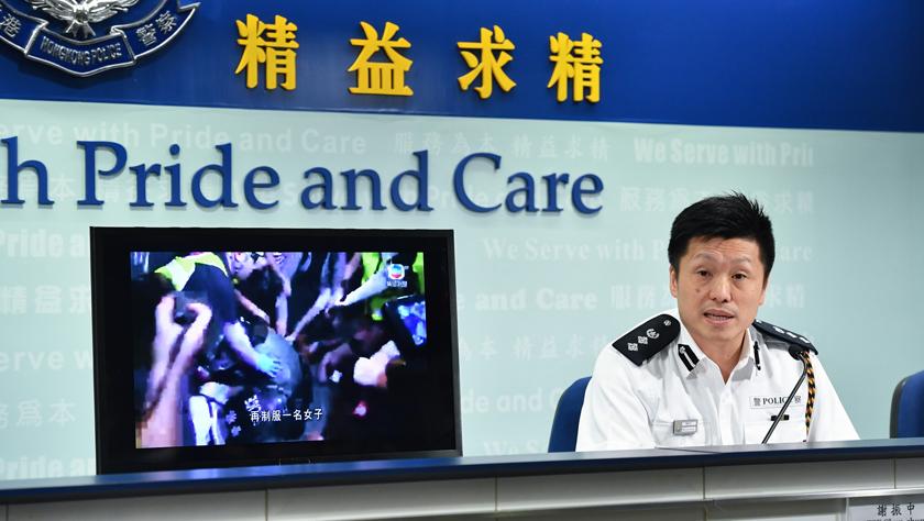 香港警方:修例风波以来已拘捕1140人