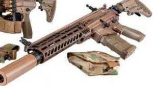 德枪厂展示2款6.8毫米口径枪械:竞争美陆军下代轻武器设计