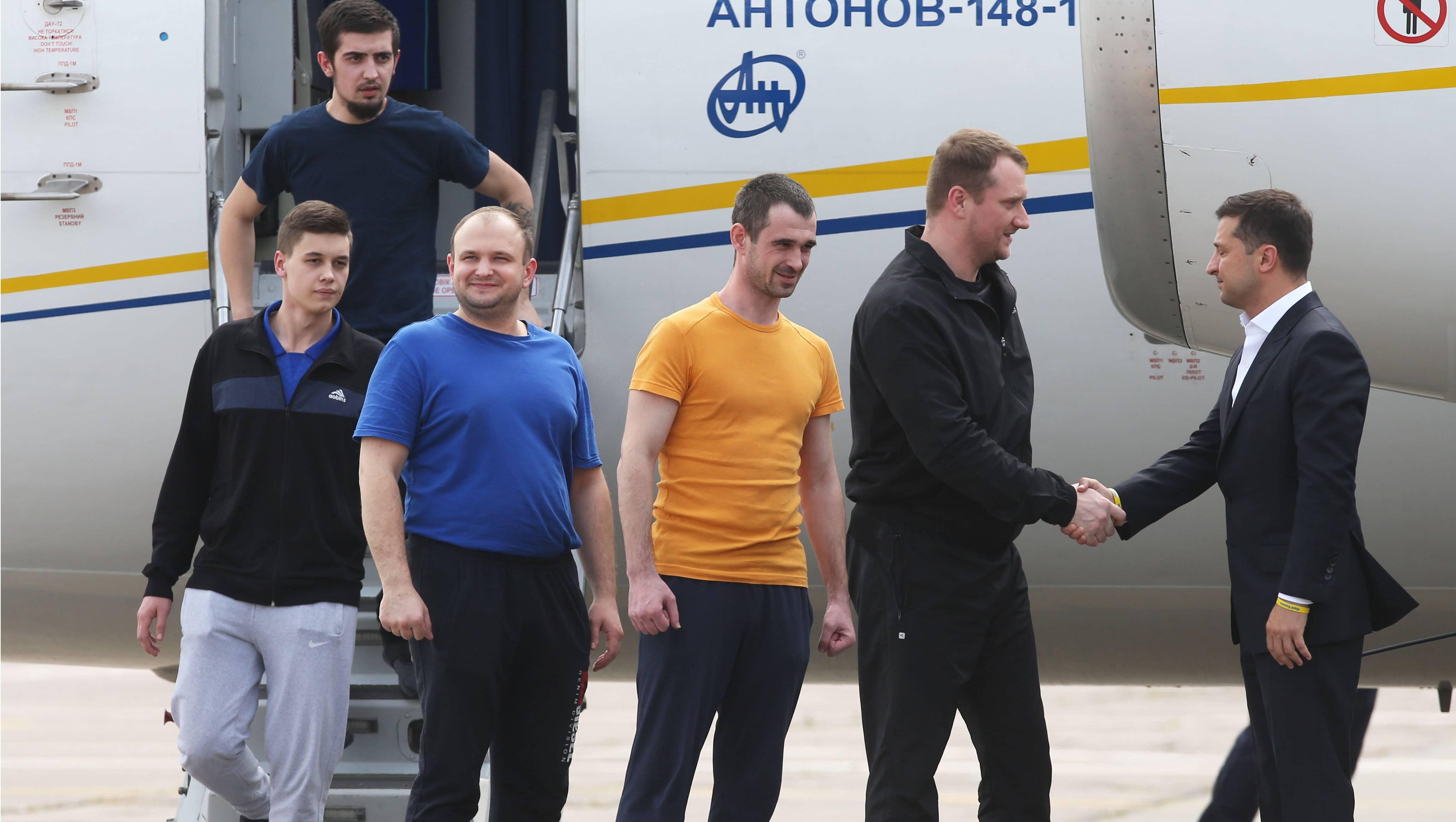 俄罗斯与乌克兰交换一批被扣押人员