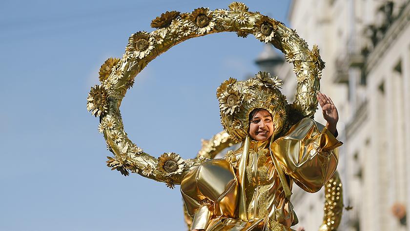 莫斯科庆祝建城872周年