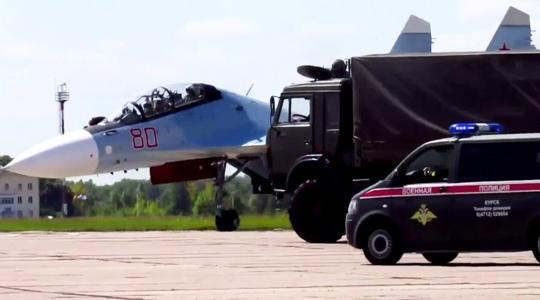 苏-30遭劫持!看俄军如何火力拦停反制