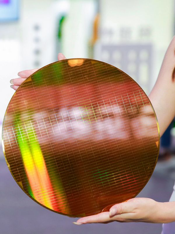 长江存储64层3D NAND闪存晶圆