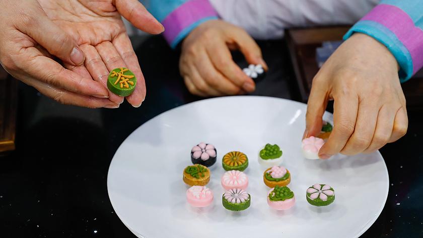 """""""迎中秋""""世界各地传统糕点系列——韩国松饼和茶食"""