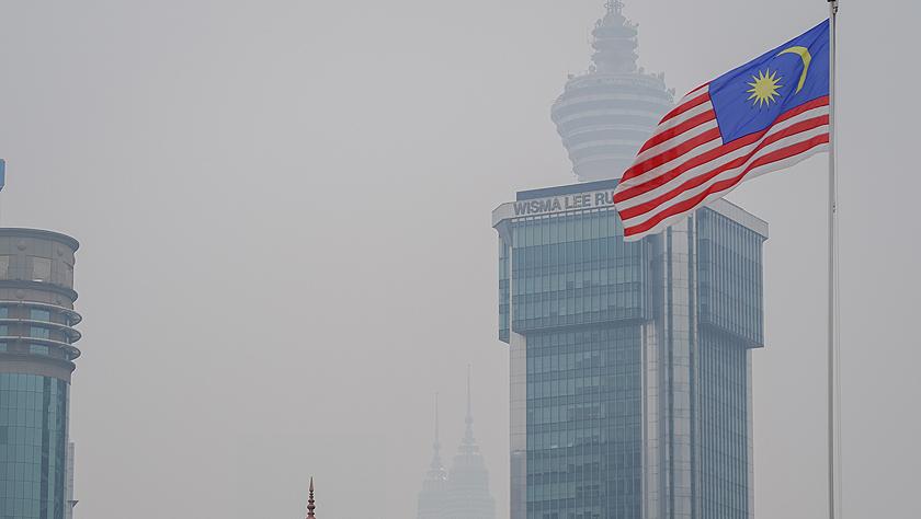 马来西亚烟霾污染导致400多所学校停课
