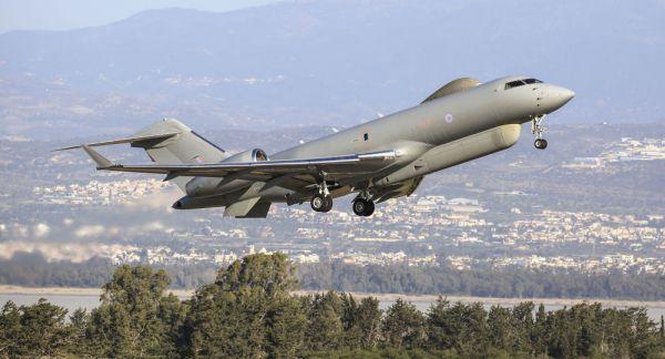 图为英军RC-135侦察机(英国国防部网站)