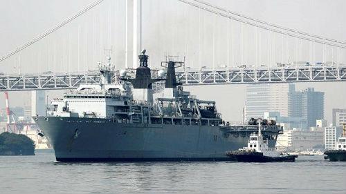 英航母计划巡航南海? 中国驻英大使警告英国勿被人当枪使
