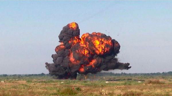 俄军在加里宁格勒地区演练反入侵作战