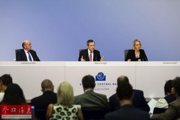 外媒:跟进美联储 欧洲央行宣布降息并重启购债