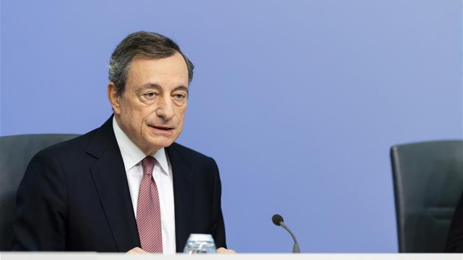 欧洲央行宣布降息并重启购债计划