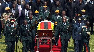 外媒:津巴布韦为穆加贝举行国葬