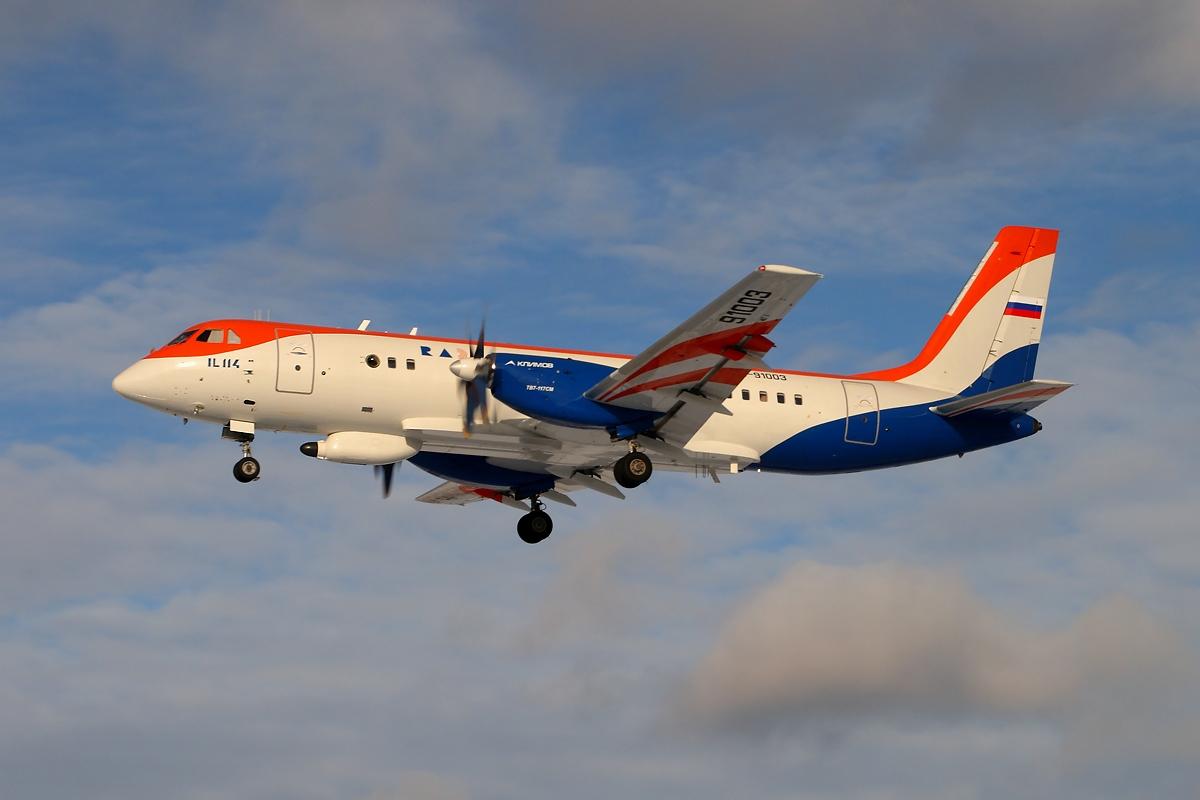 印度拟从俄罗斯引进制造伊尔-114支线客机
