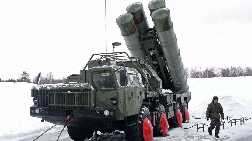 可拦截中导!俄军S-400防空导弹系统部署北极