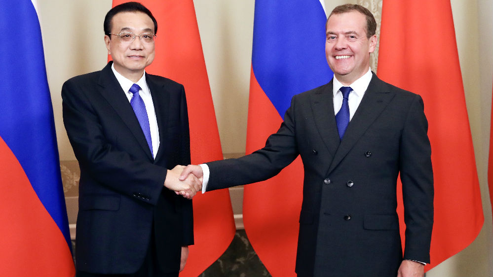 李克强访问俄罗斯深化多领域经贸合作
