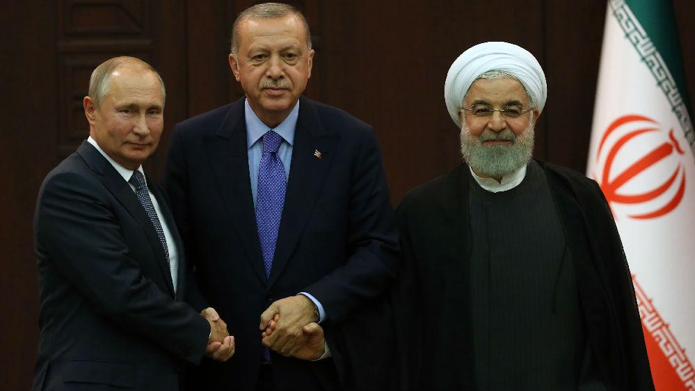 外媒:俄土伊峰会聚焦叙利亚局势 敦促美国撤军
