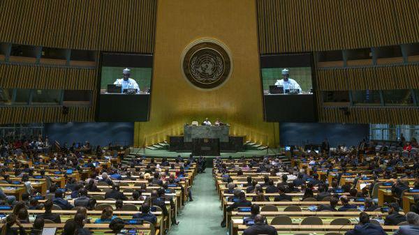 外媒:联合国大会在纽约开幕 古特雷斯力倡多边主义