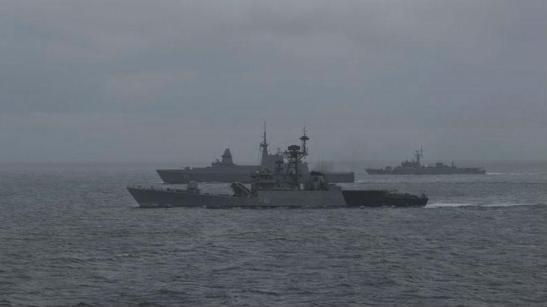 印新泰举行首次联合军演 外媒:折射印度战略意图