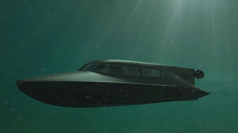 英企推出迷你特战潜艇 外媒:英海军很感兴趣