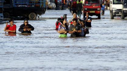 英媒:气候变化迫使亚洲城市重新考虑防洪措施