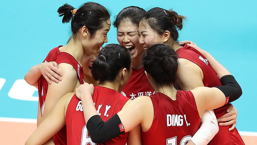 女排世界杯:中國隊勝巴西隊