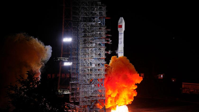"""中国成功发射两颗北斗三号卫星 北斗系统""""一箭双星"""""""