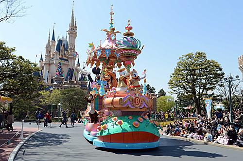 日媒:东京迪士尼一日票将涨价 新主题区域明年4月开放