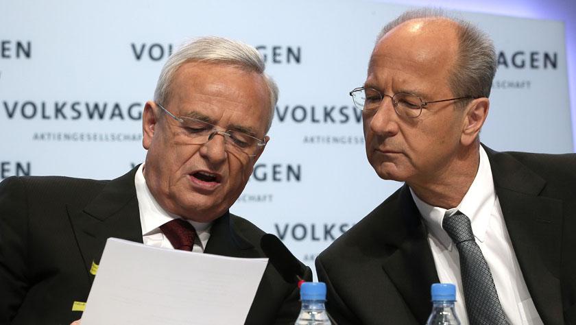 大众汽车三名高管遭德国检方起诉