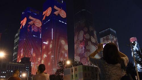 境外媒体关注:中国各地盛装喜迎新中国70华诞