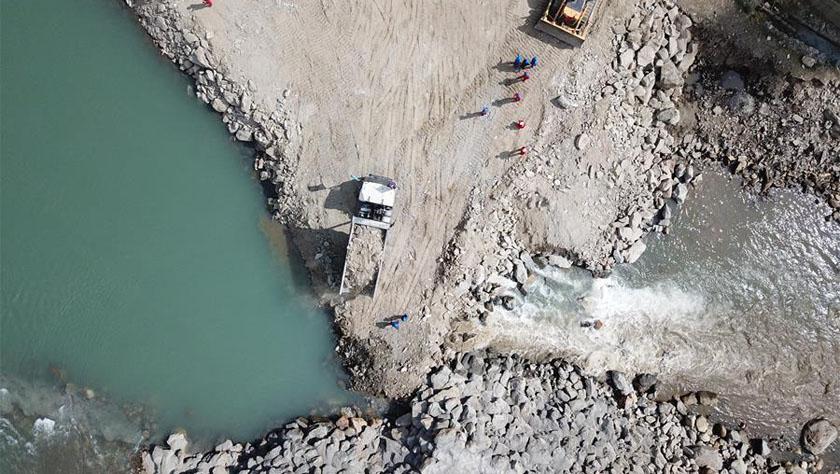 大坝成功截流——中企建设巴基斯坦苏吉吉纳里水电站取得阶段性成果
