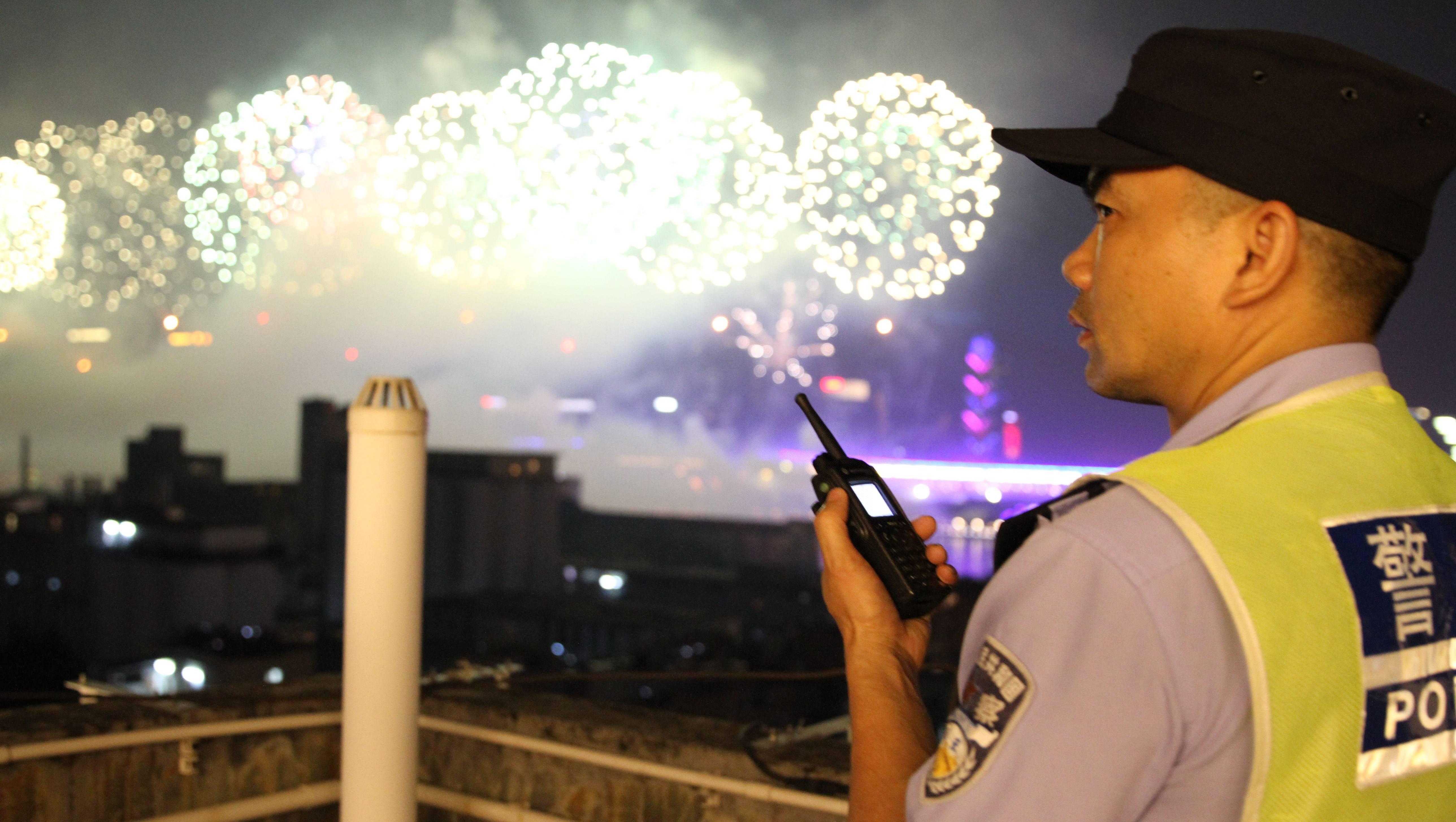 为保一方平安 民警的国庆一天是这样度过的