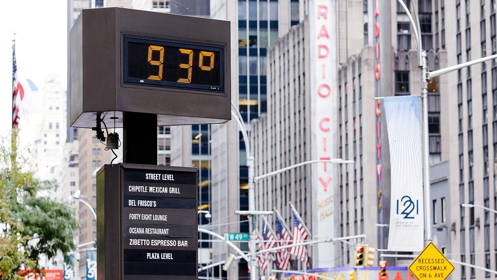 9月全球平均气温再创新高