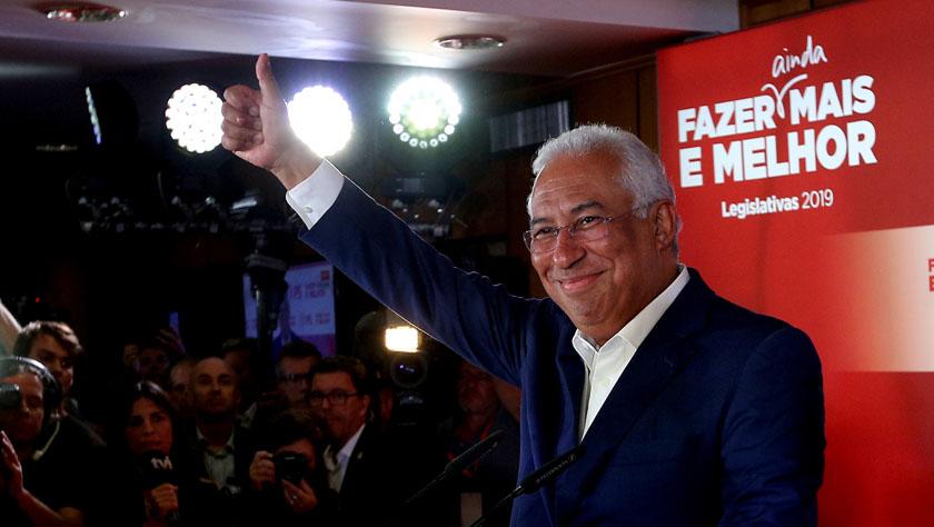 葡萄牙社会党在议会推举中得胜