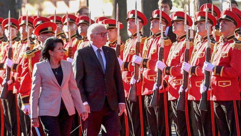 德国总统表示支持格鲁吉亚加入欧盟和北约