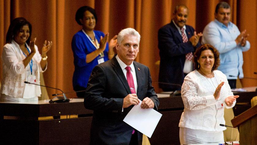 迪亚斯-卡内尔当选古巴国家主席